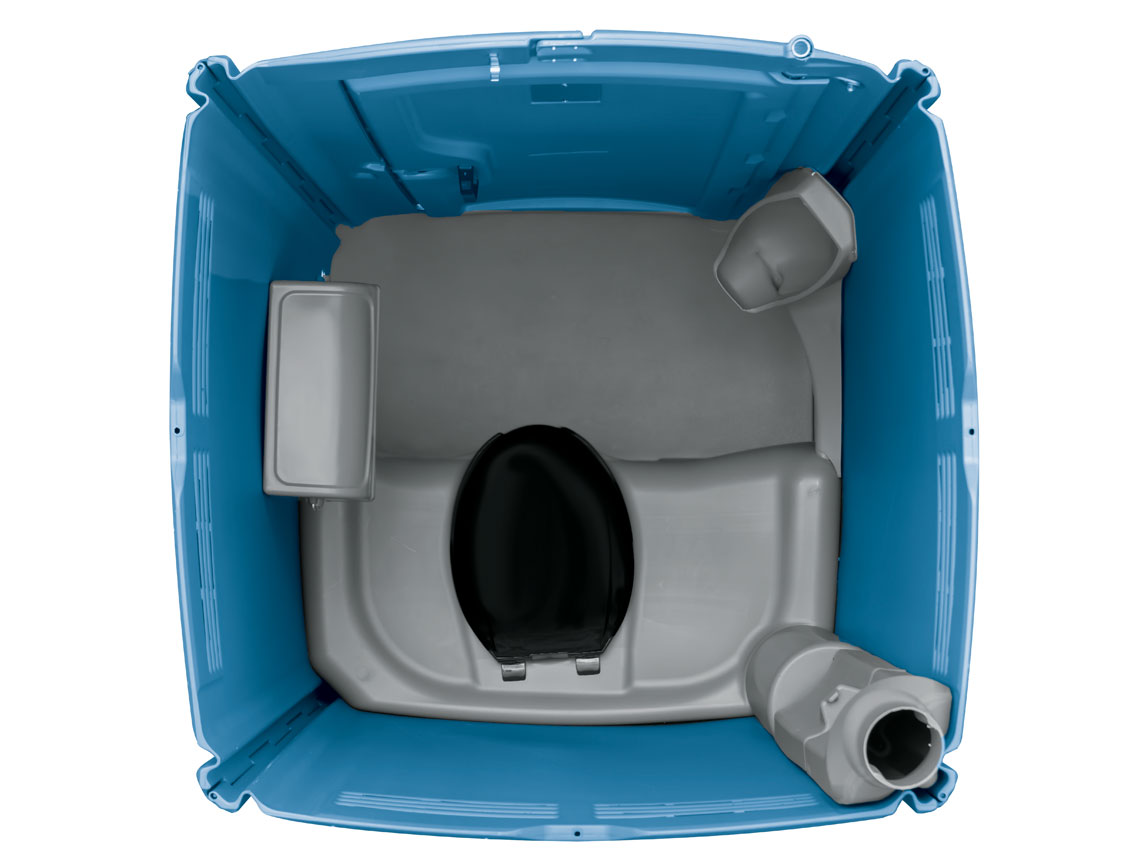 Portable Boat Toilet : Maxim 3000 portable restrooms satellite industries