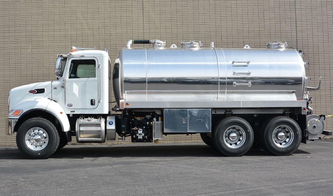 Image result for satellite septic trucks