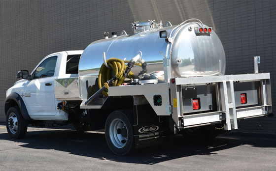Portable Restroom And Toilet Vacuum Service Trucks