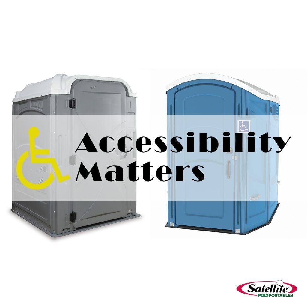 ADA Sanitation Equipment from Satellite PolyPortables