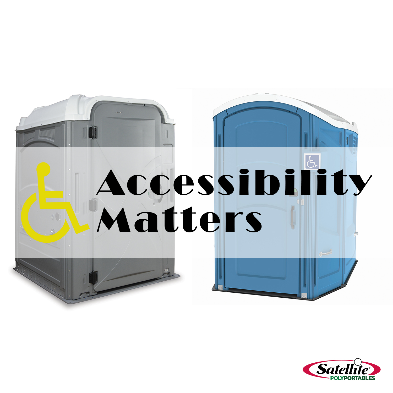 ADA Sanitation Equipment from Satellite PolyPortables
