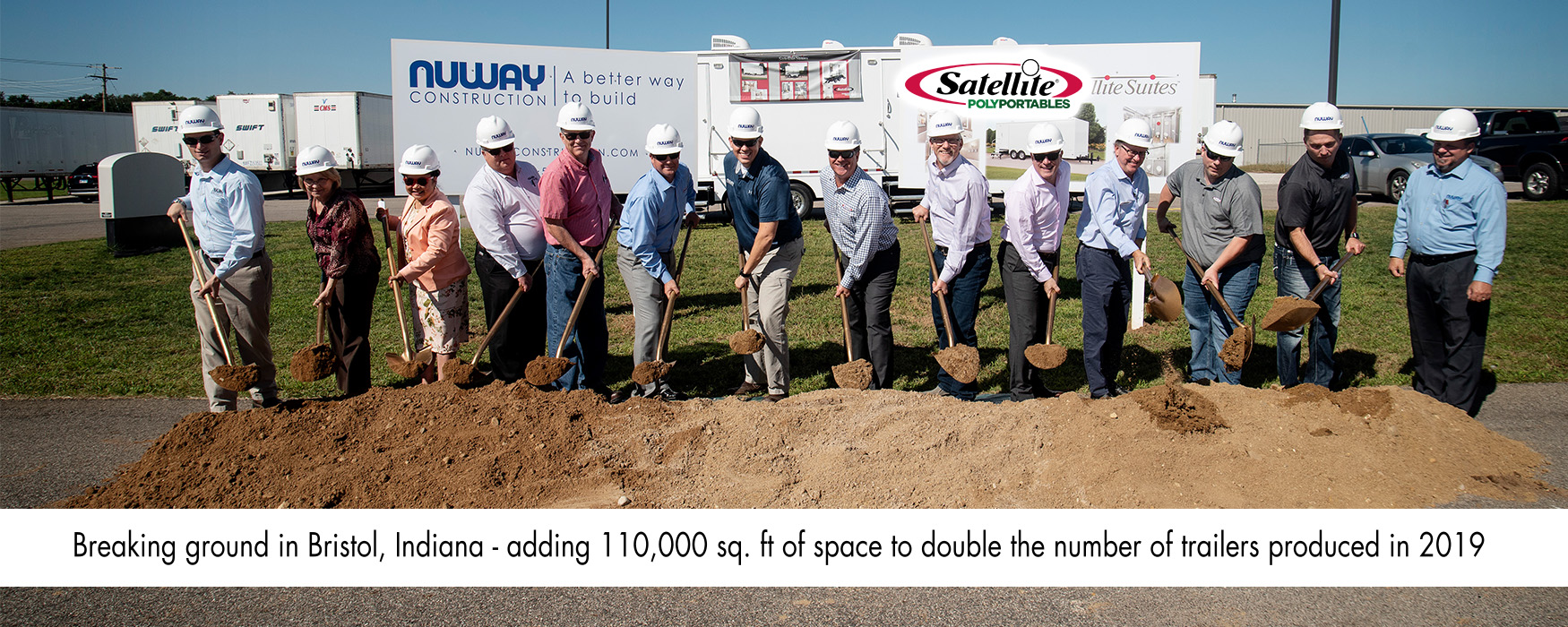 Trailer Production Ground Breaking