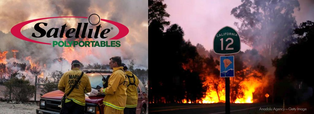 California Fires _ Satellite PolyPortables Customers need to know