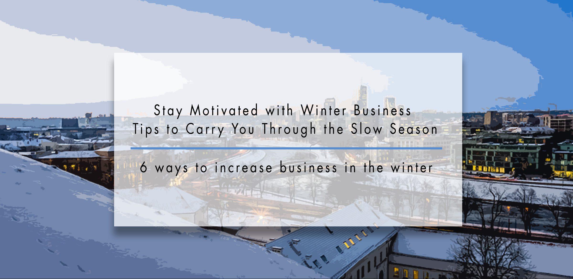 Winter Business Tips Header