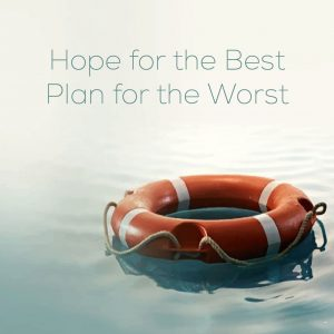 a Disaster Plan will make a big difference for your business