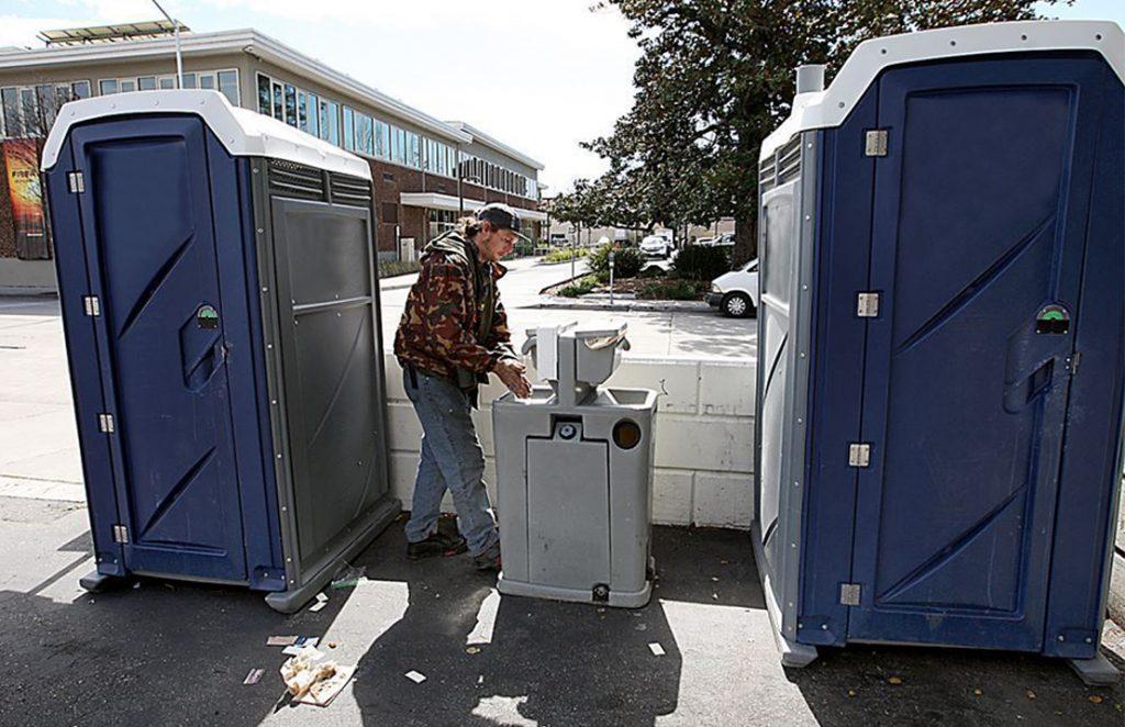 Restrooms in Santa Cruz for city workers